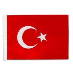 - Türk Masa Bayrağı 15x22,5 cm