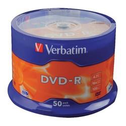 - Verbatim DVD-R 4,7GB 50lik Paket