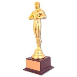 Digitronix - Yılın Oskarı Bay Plastik Ayaklı Altın Sarı (1)