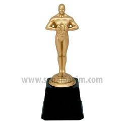 - Yılın Oskarı Bay Plastik Ayaklı Mat Altın Mini
