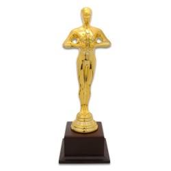 - Yılın Oskarı Bayan Ahşap Ayaklı Altın Sarı