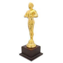 - Yılın Oskarı Bayan Ahşap Ayaklı Altın Sarı (1)