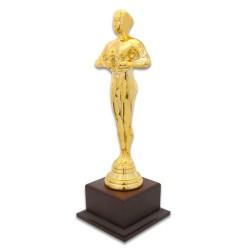 Digitronix - Yılın Oskarı Bayan Ahşap Ayaklı Altın Sarı (1)